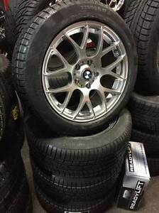 "17"" WINTER PACKAGE BMW X1 BMW 3 SERIES SNOW TIRES"