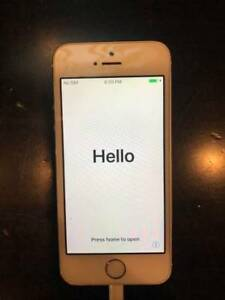 iPhone 5s 16Gb White / Silver Like New FACTORY UNLOCKED