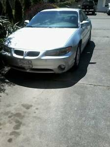 2001 Pontiac Grand Prix GT - GREY
