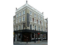 BAR & WAITSTAFF WANTED - Busy Pub in Earl's Court