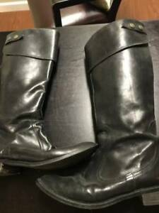 Beautiful Black Leather Boots