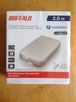 Buffalo 2TB MiniStation Thunderbolt Hard Drive HD-PATU3