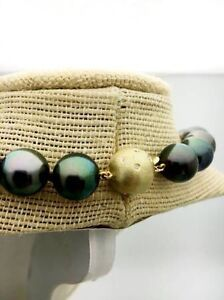 BEAUTIFUL BLACK TAHITIAN PEARL NECKLACE Downtown-West End Greater Vancouver Area image 3