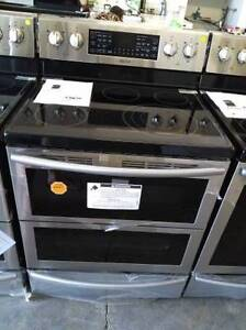 New Stainless steel Samsung double oven