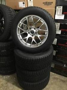 "WINTER - 18"" WINTER PACKAGE BMW X5 X6 BLACK SILVER SNOW TIRES! D"