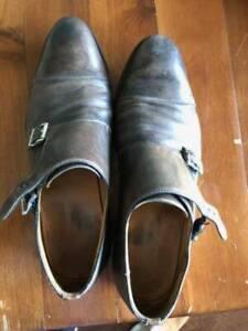 Magnanni Double Monk Strap - Size 10.