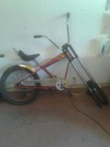 Collector Harley Davidson chopper bicycle