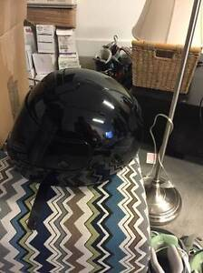 Brand New HJC All Black Helmet North Shore Greater Vancouver Area image 2