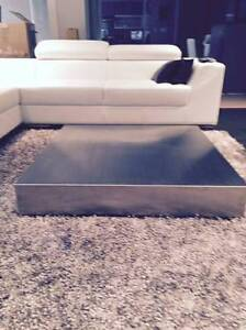 Coffee Table - Stainless Steel