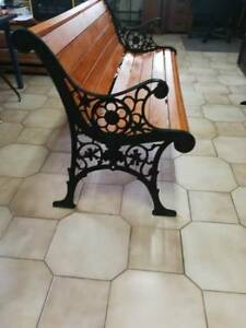 Brand new cast iron bench for sale