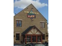 Line and Carvery Chefs Needed at Birchwood Farm. Full and Part time. Recruitment day wed 27th July