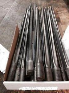 Gun Drills, 23 , coolant hole thru drill. Mfd. Carbide Eng.