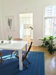 Large and Bright Mile End Sublet