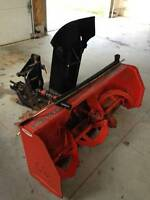 WTB: Front mount snowblower for Kubota BX tractor