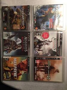 6 Playstation 3 (PS3) games for sale - 50 $