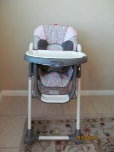 Graco Baby Girl High Chair (Elyse Pattern)