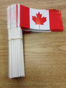 FLAGS & STICKERS - Canada,  1st July Canada DAY