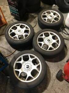 06 Mini Cooper S wheels and tires