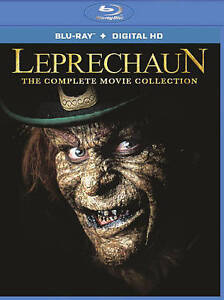 Leprechaun The Complete Movie Collection [Blu-ray + Digital HD] New, Free shippi