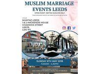 LEEDS, ENGLAND, MUSLIM MARRIAGE EVENTS