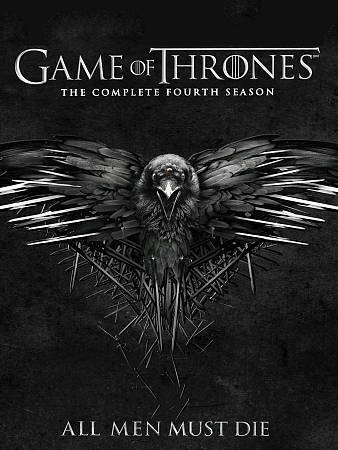 Game of Thrones: The Complete Fourth Season 4 (DVD, 2015) Brand New & Sealed!