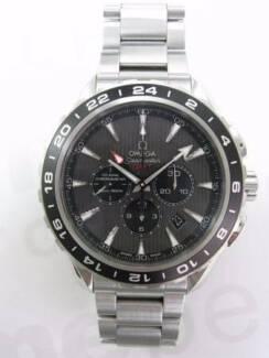 Omega Seamaster Aquaterra GMT Chronograph 231.10.44.52.06.001 co axial