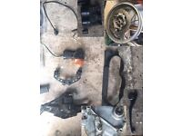 Kawasaki GPZ 500S job lot of parts incl engine and gearbox, 1999 model, bargain!!!