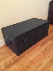 Antique Military Trunk 1949 - Coffee Table