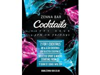 Happy Hour at Zenna Bar