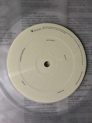 Solange When I Get Home Sealed CLEAR Vinyl LP