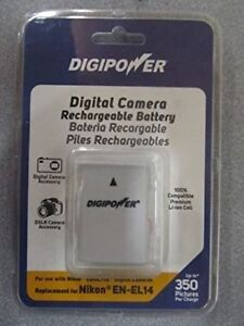 DIGIPOWER Rechargeable Battery replacement for Nikon EN-EL14