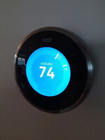 Nest Thermostat+Nest Protect smoke alarms www.foselectric.ca