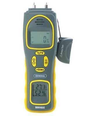 General Mmh800 Pin/Pinless Moisture Meter With Temp/Rh