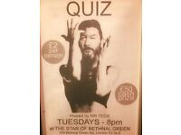 PUB QUIZ AT LONDON