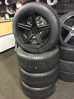 """USED - 20"""" Black Niche Apex wheels refinished & NEw tires Merced"""