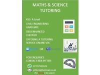 Online Tutoring Service in Maths and Science (GCSEs & A-Levels)