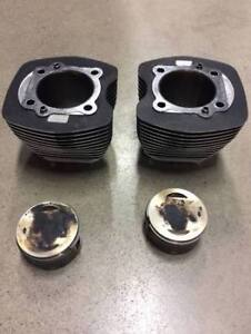 Harley Davidson stock pistons and cylinders