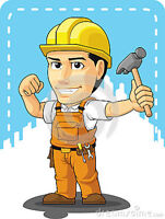 One or two labourers available for cash work(15$ to 20$ per hr)