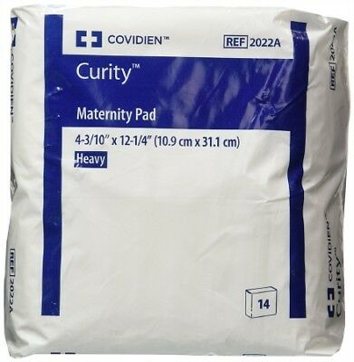 OB / Maternity Pad Curity, Super Absorbency, Bag of 14 VALUE 4 Pack (56 Total)