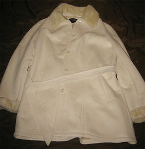 Cream Colored Women's winter coat