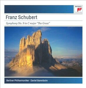 "NEW Schubert: Symphony No. 9 in C Major D944 ""The Great"" (Audio CD)"