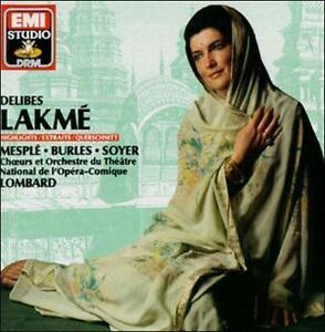 Delibes Lakm Highlights Cd May 1990 Emi Music