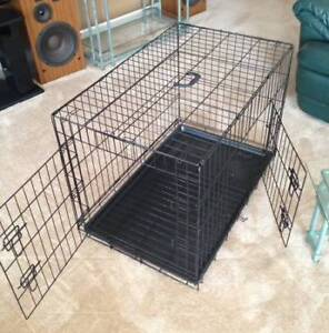 Dog Crate, Large Metal Cage, folding kennel, BRAND NEW!