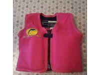 Girls Age 2-3 Swimming Jacket Float Vest