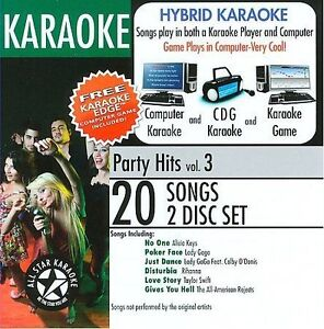 Karaoke ASK-97 Karaoke: Party Hits with Karaoke Edge, Lady Gaga, Rihanna,