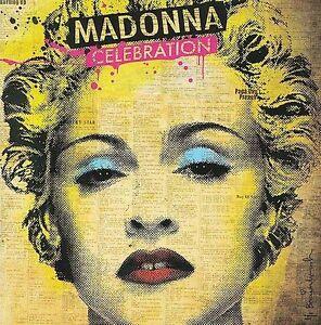 Celebration-Madonna-2-CD-Set-Greatest-Hits-New-2009