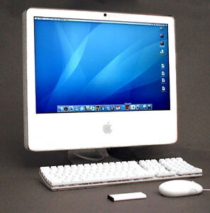 "17"" iMAC 1.60GHZ,2GB,80GB,DVD-RW,WORKING VERY WELL"