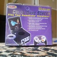 Intec Black Game Screen for GameCube - Black NEW