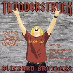 Blizzard Brothers : Thunderstruck CD