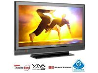 "Sony Bravia 40"" inch HD Ready Flat LCD TV Widescreen Freeview Built in, 2x HDMI not 37 42 32"